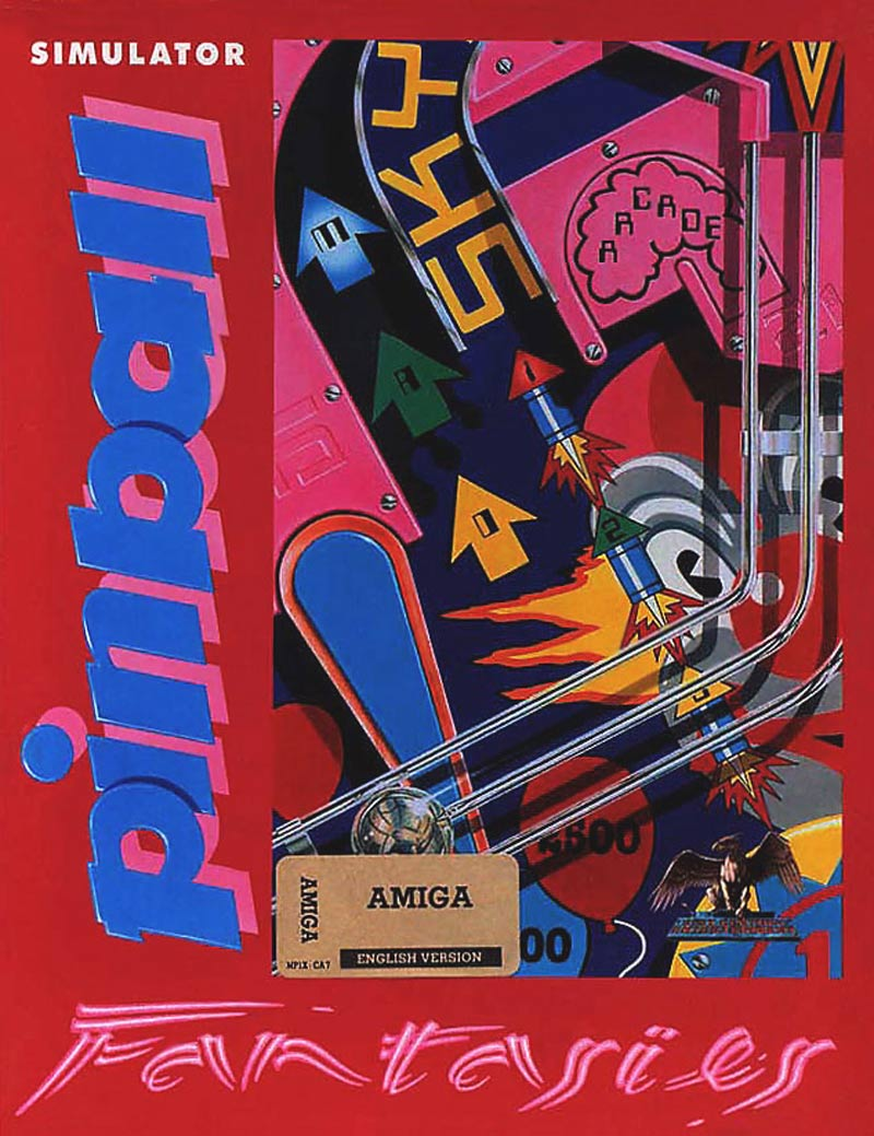 Pinball construction set - Pinball Fantasies Pinball Fantasies Deluxe Amiga Dos Snes Atari Jaguar Amiga Cd32 Game Boy Playstation 1992
