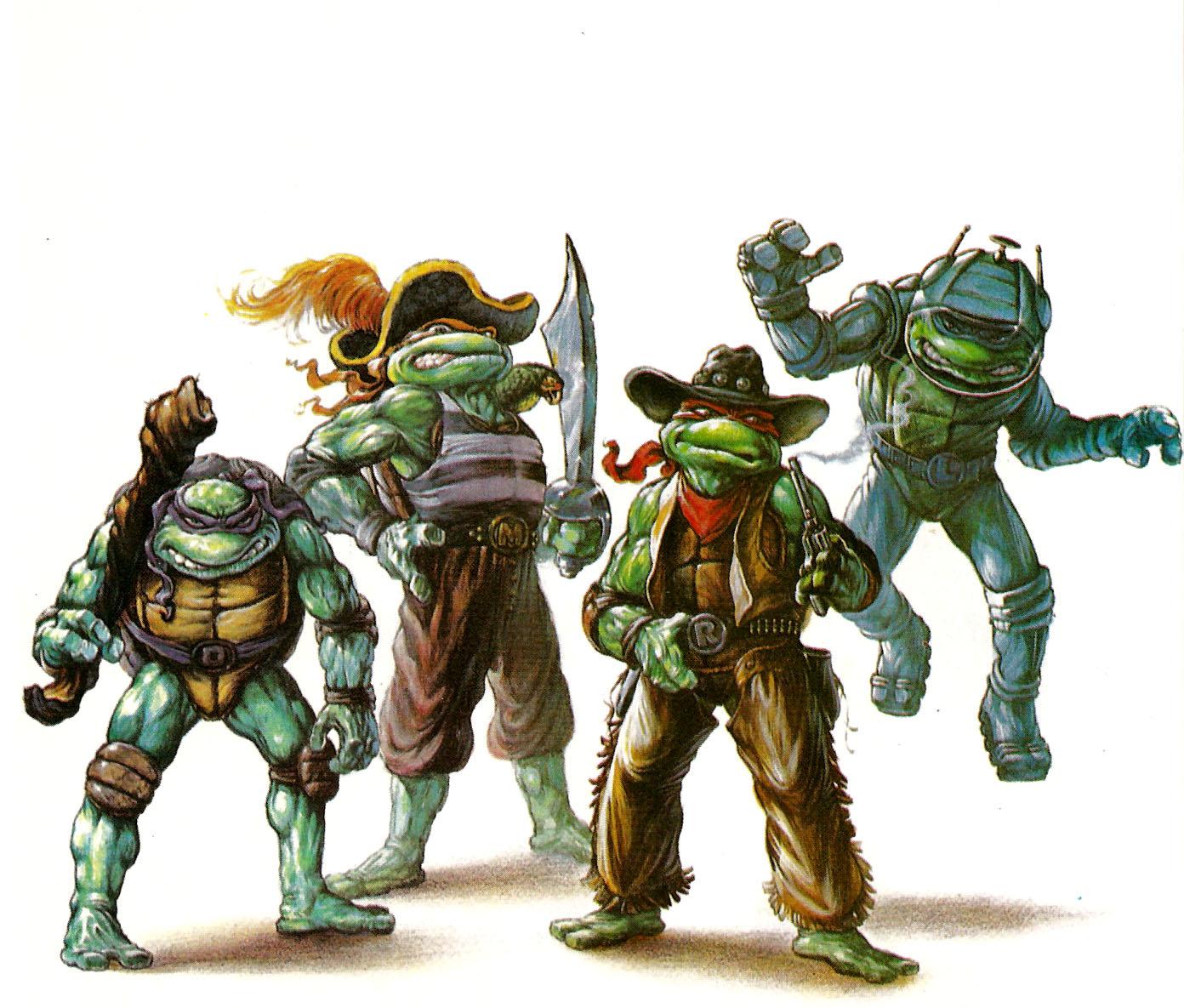 Teenage Mutant Ninja Turtles: Turtles in Time - Arcade, GameCube ...