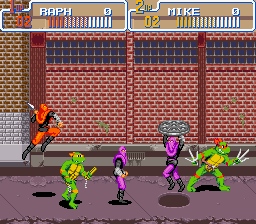 Image result for Teenage Mutant Ninja Turtles: Turtles in Time SNES