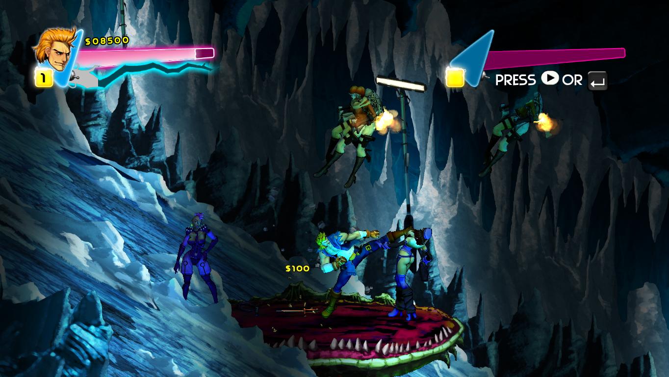 Double Dragon Neon Hardcore Gaming 101