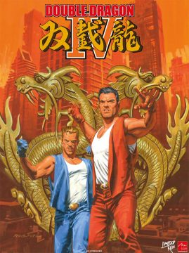 double dragon game cover