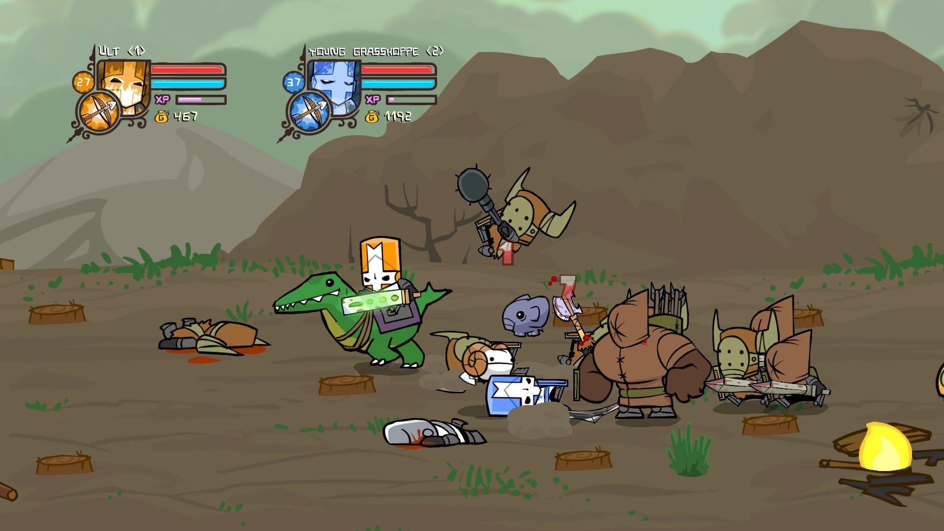 Castle Crashers – Gaming 101 on