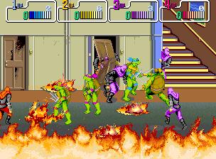 Teenage Mutant Ninja Turtles II The Arcade Game