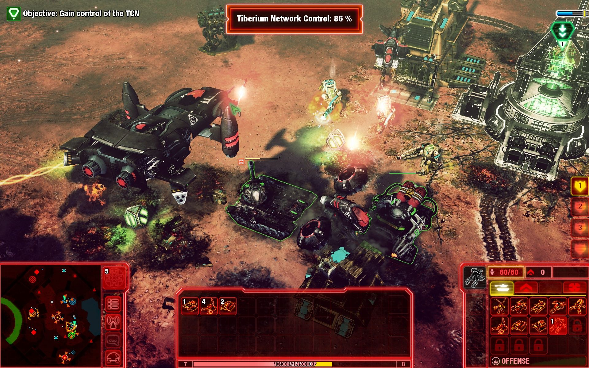 how to play command and conquer 4