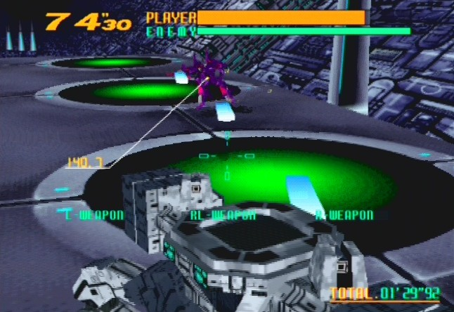 [Análise Retro Game] - Cyber Troopers Virtual-On - Sega Saturn/PC/PS2/PS3 Virtualonps2-5