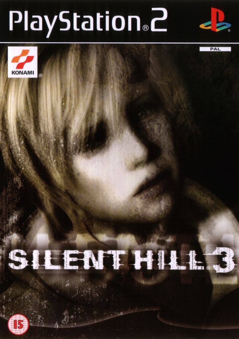 25293 Silent Hill 3 Playstation 2 Front Cover Hardcore Gaming 101